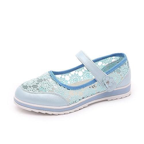 Amazon.com: feilongzaitianba Niñas Zapatos de Verano Niños ...