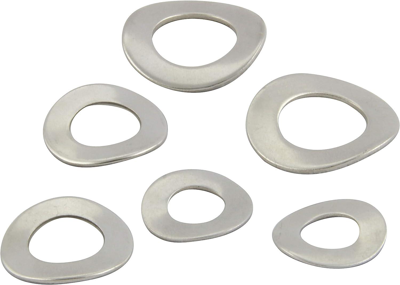 FASTON Forme B Rondelles /à ressort ondul/ées En acier inoxydable A2 V2A DIN 137