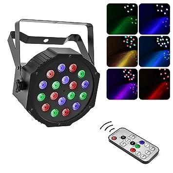 Moukey - Proyectores de efectos por LED RGB, control a ...