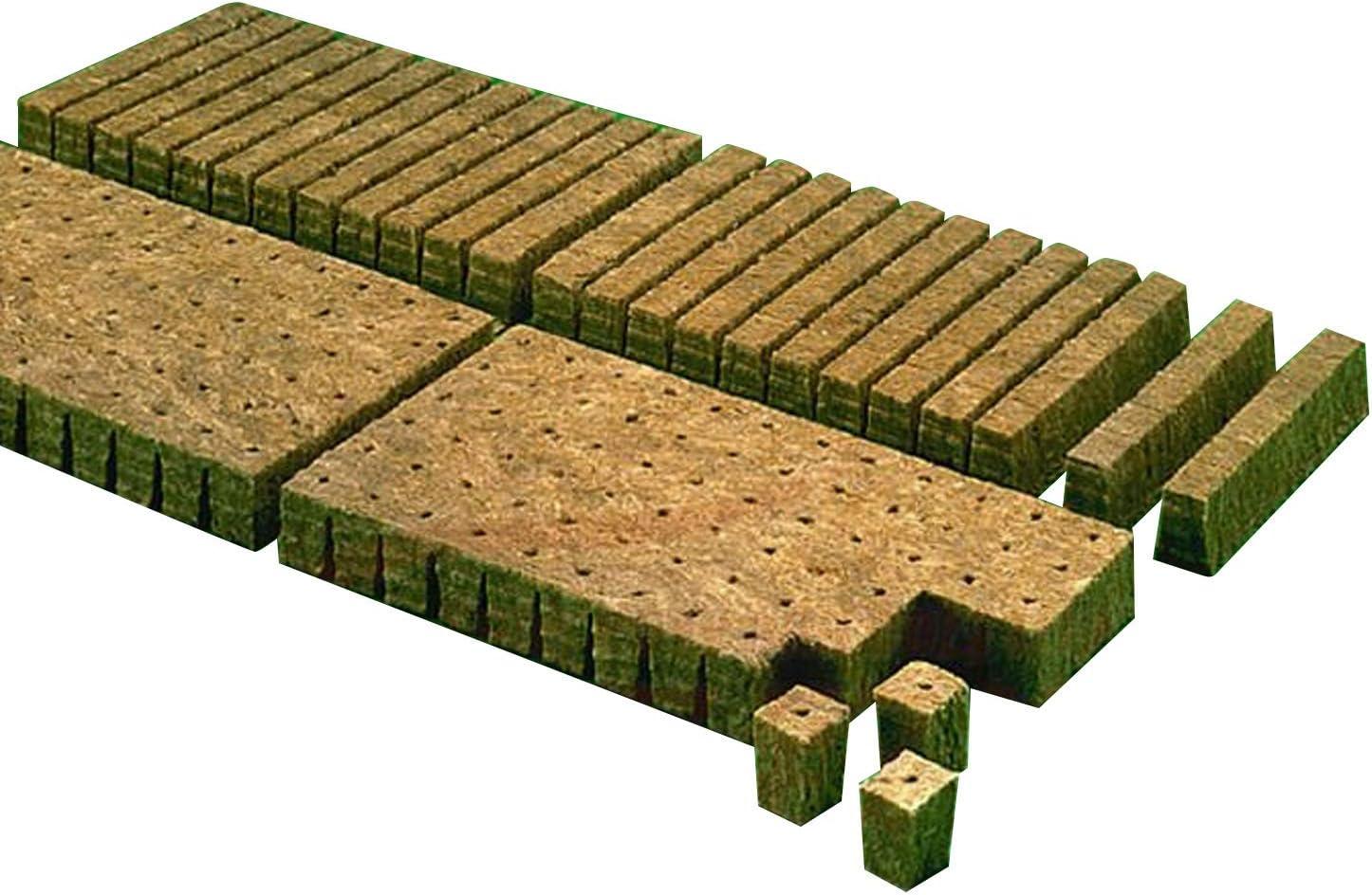 Hydroponics Cutting Cubes Tray 77 or 150 Rockwool Cultilene Propagation 25//35mm 77 cube Tray - 35mm