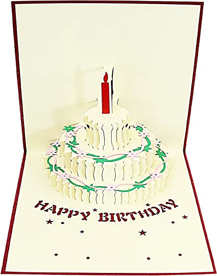 Incredible Jerry Maggie Pop Up Greeting Card Happy Birthday Cake Candle Funny Birthday Cards Online Aboleapandamsfinfo