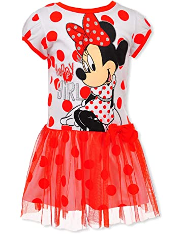 86dc0f7c9d9 Disney Little Girls' Minnie Tulle Dress