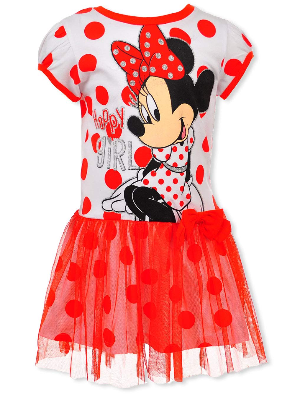 Disney Toddler/Little Girls' Minnie Mouse Tulle Dress