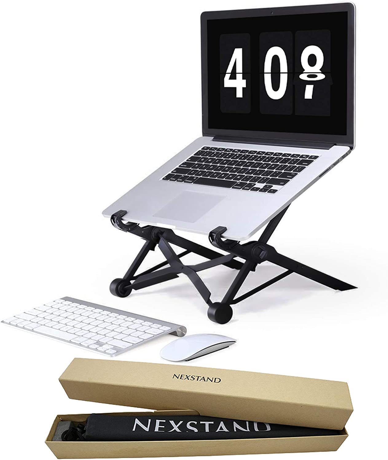 Nexstand Laptop Stand – Portable Laptop Stand – PC and MacBook Laptop Stand