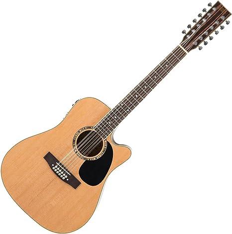 Classic Cantabile WS-12 - Guitarra acústica 12 cuerdas, color ...