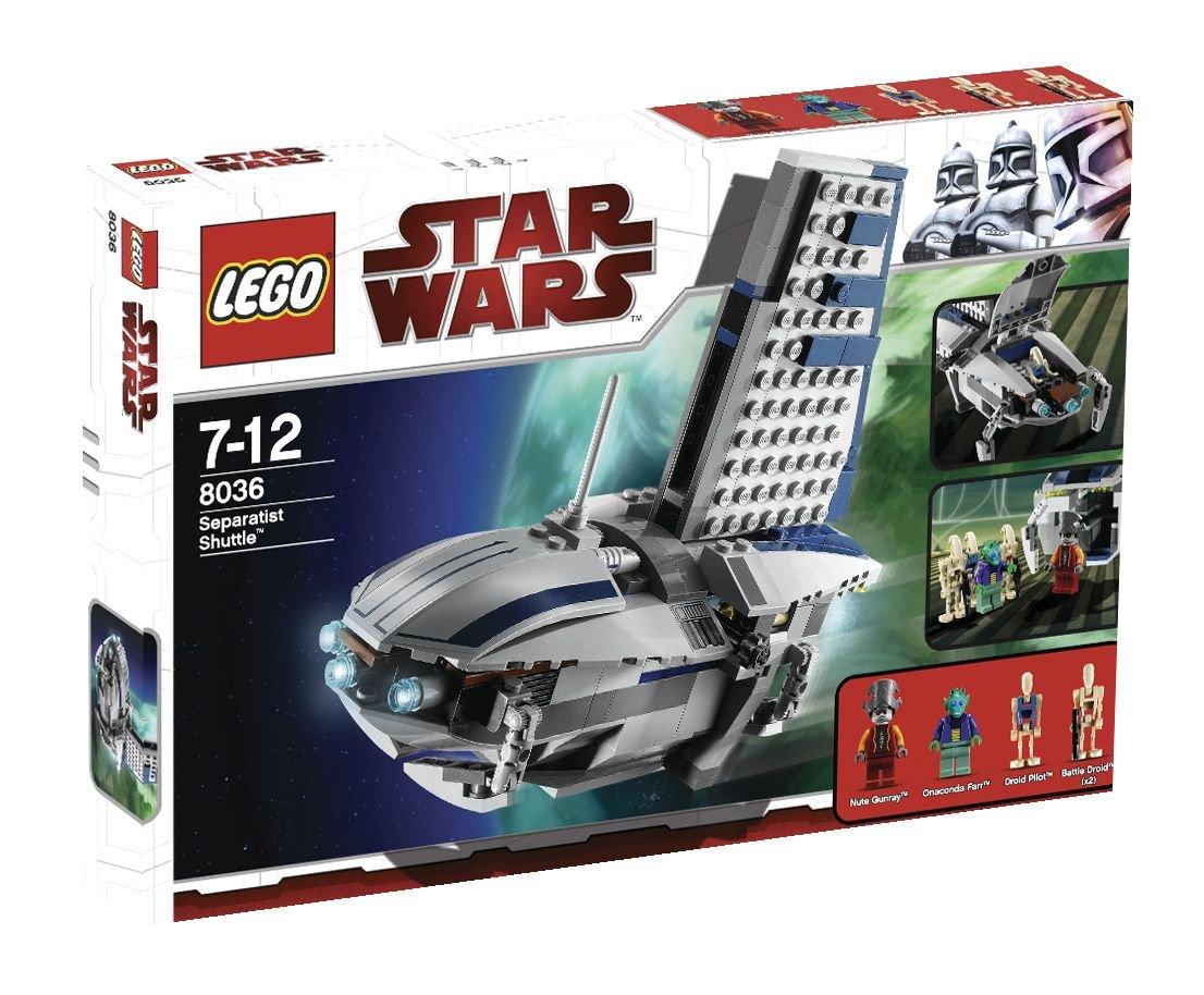 LEGO LEGO LEGO Star Wars 8036 - Separatists Shuttle 6cd487
