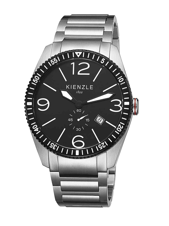 Kienzle Herren-Armbanduhr XL Analog Edelstahl K8041123022