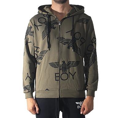 Boy London - Sudadera - para Hombre Militare M: Amazon.es: Ropa y accesorios