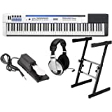 Casio PX-5S Privia Pro Digital Stage Piano 88 Key Weighted Hammer Action with Stand, Sustain Pedal, and Headphones