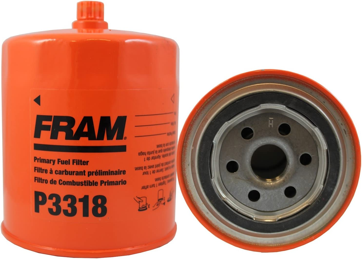 FRAM P3318 Heavy Duty Oil and Fuel Filter