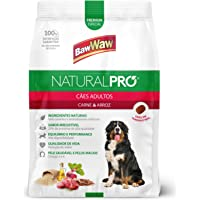 Ração Baw Waw Natural Pro para cães adultos sabor Carne e Arroz - 6kg
