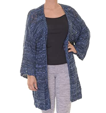 Style & Co. Womens Open Front Kimono Sleeve Cardigan Sweater at ...