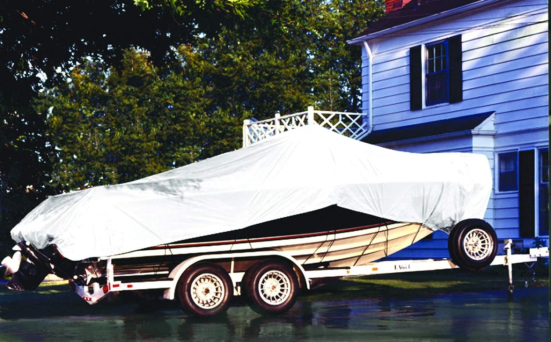 White 3.1 oz DeWitt WU10X12 Super Boat Tarps