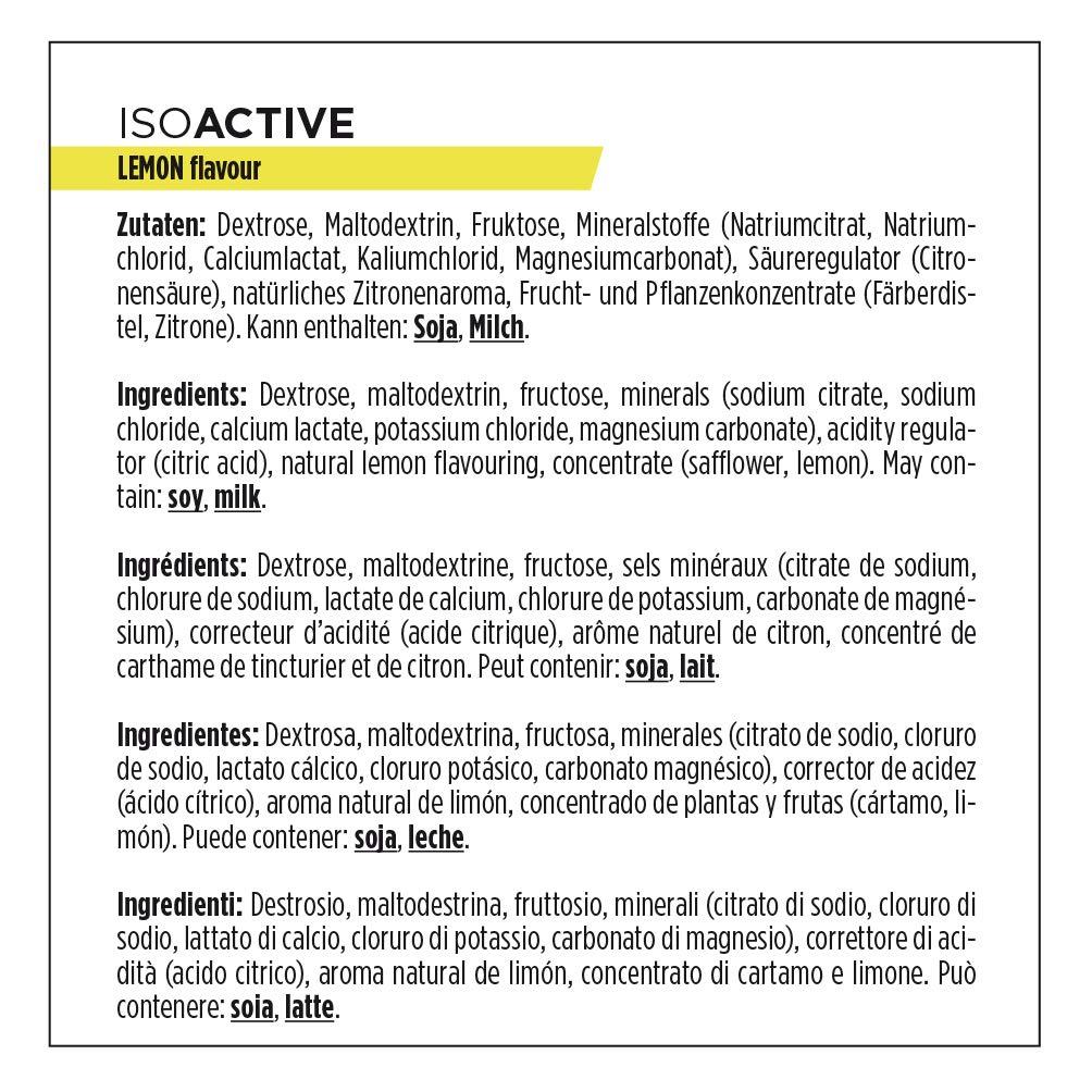Powerbar Isoactive Suplemento, Sabor Lemon - 600 gr: Amazon.es: Salud y cuidado personal