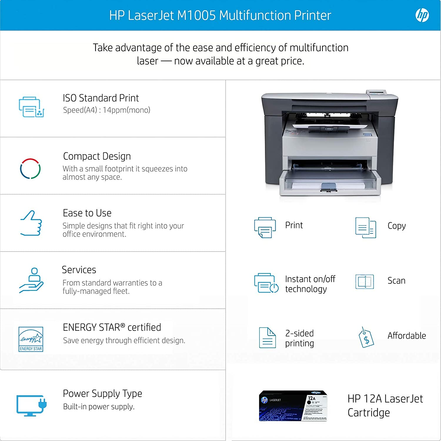 hp m1005 printer scanner software