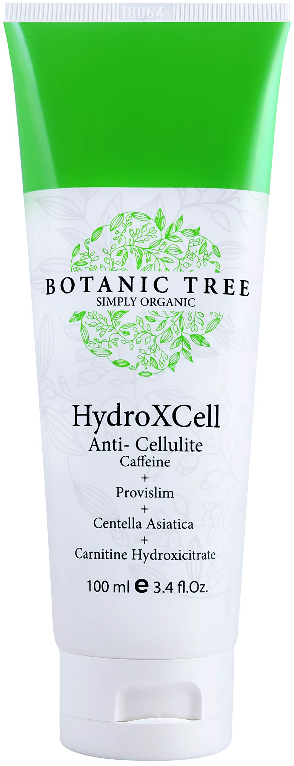 HydroXCell Anti Cellulite Cream Botanic Tree-Decrease Cellulite in 92% of Customers After 2 Months-Proven Results-100% Organic Extract-Cellulite Cream Remover w/Caffeine,Centella Asiatica,and Gingko.
