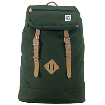 The Pack Society Backpack Solid Forrest Green Rucksack
