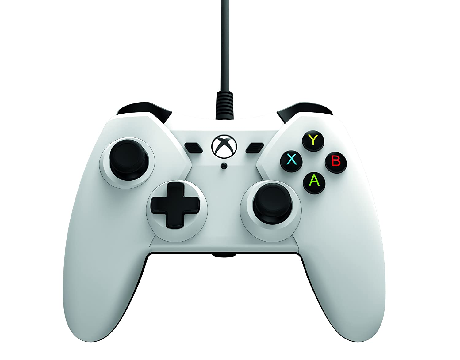 White Wired Controller - Microsoft Officially Licensed for Xbox One ...
