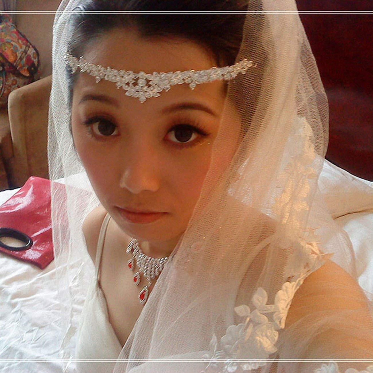 Elviray 1 pc /Él/égant Luxueux Mariage Mari/ée Couronne Chapeaux Strass Diad/èmes en /Épingle /À Cheveux De Mariage Accessoires De Cheveux De Mari/ée Bijoux