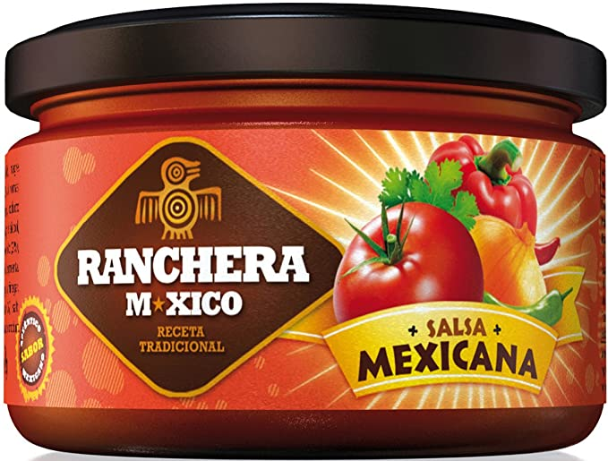 Ranchera M-Xico Frasco Salsa Mexicana - 280 ml
