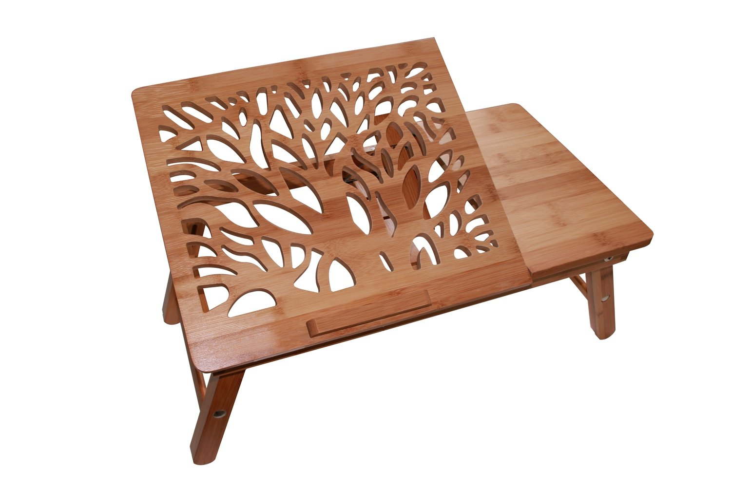 NEW Wood Laptop Stand Laptop Computer Table Desk Home ...