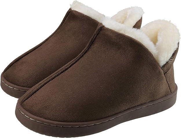 INMINPIN Zapatillas de Estar por Casa para Niños Invierno Zapatillas Interior Casa Caliente Zapatos Suave Algodón Pantuflas Antideslizantes Niñas Botines: Amazon.es: Zapatos y complementos