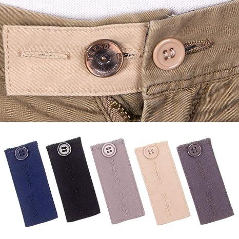 3675b1695 Extensores de cintura ajustables para pantalones de traje  Amazon.es ...