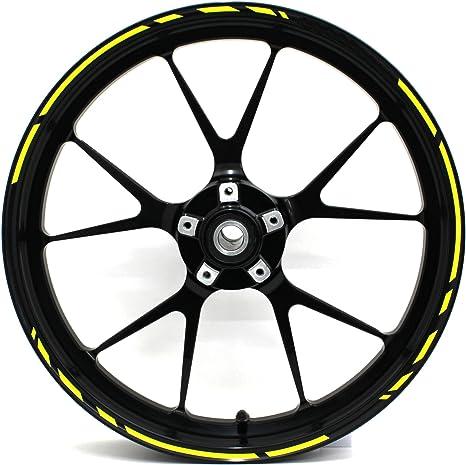 Adesivi per cerchioni Race Design 12 pezzi set completo Finest Folia adatto per 17 pollici /& 16 18 19 cerchioni moto auto bicicletta