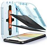 Spigen Tempered Glass Screen Protector [Glas.tR EZ Fit] Designed for iPhone 11 / iPhone XR [2Pack] - Privacy