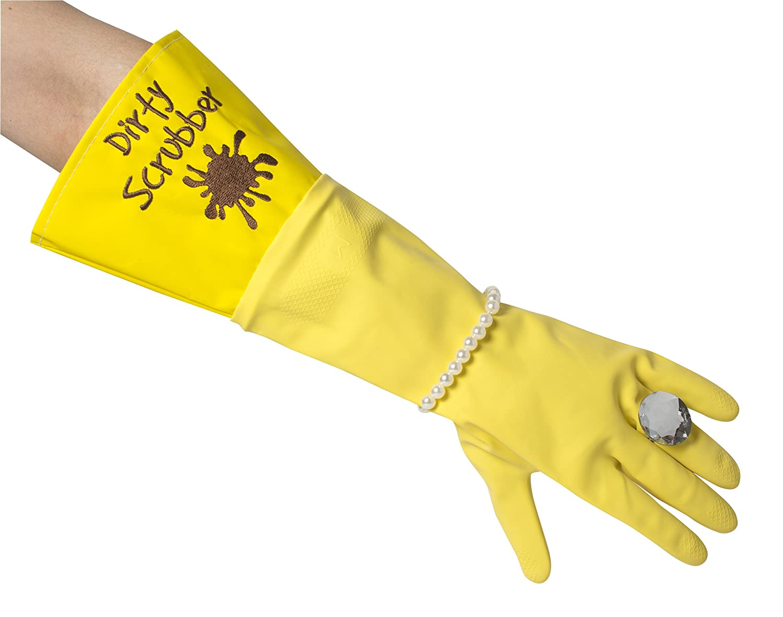 Dirty Scrubber Glam Gloves Luxury Novelty Gift Secret Santa Novelty Gift For Her