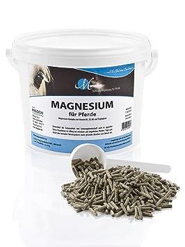 M de Premium Magnesio - 1,5 kg - Alimentos Complemento para caballos - Soporta la serenidad y potencia reposo de caballos - Pellets: Amazon.es: Productos ...
