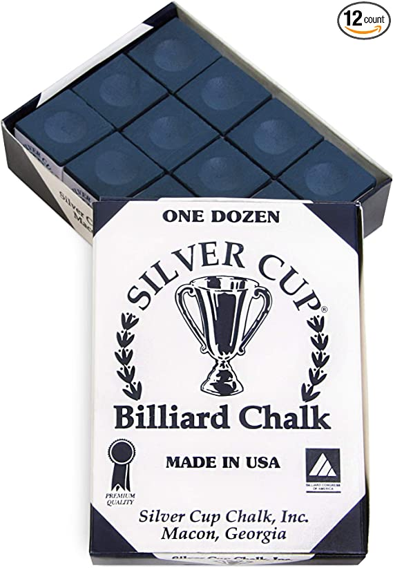 Silver Cup Case Cone Talc Chalk Case of 6