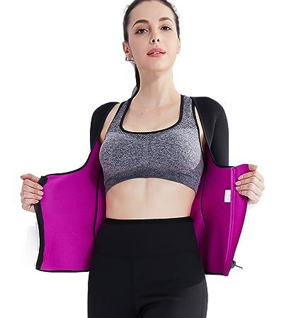 d7ddf4098b Amazon.com   Ausom Womens Thermal Body Shaper Long Shirt