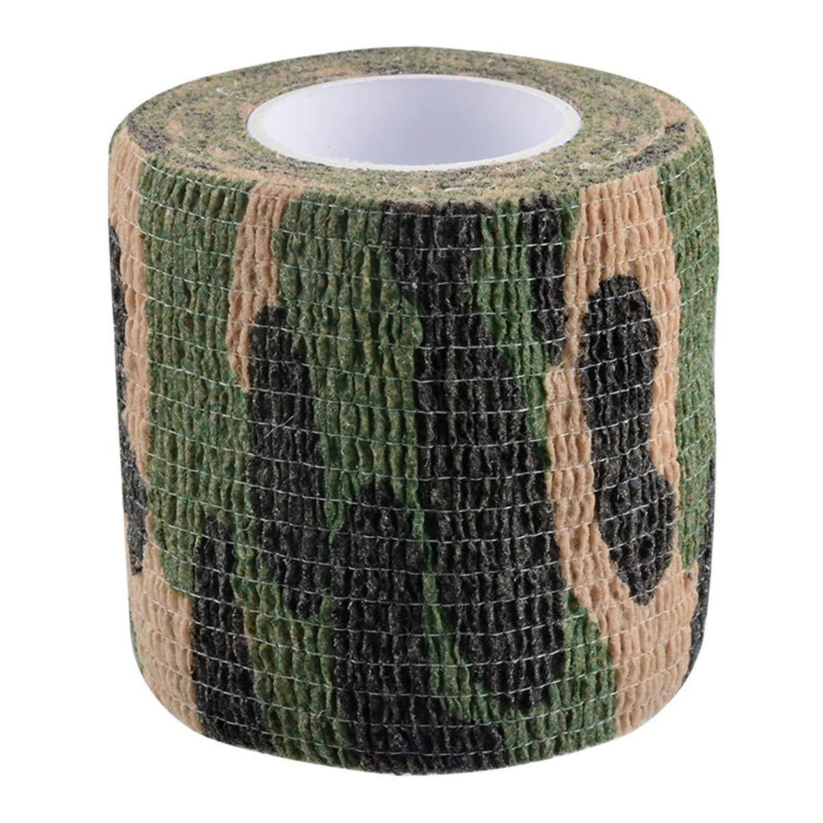 Tornado Camouflage Tape Self-Adhesive Camo Wrap Tape Cling Scope Wrap Military Camo Multifunction for Gun Rifle Shotgun Camping Hunting