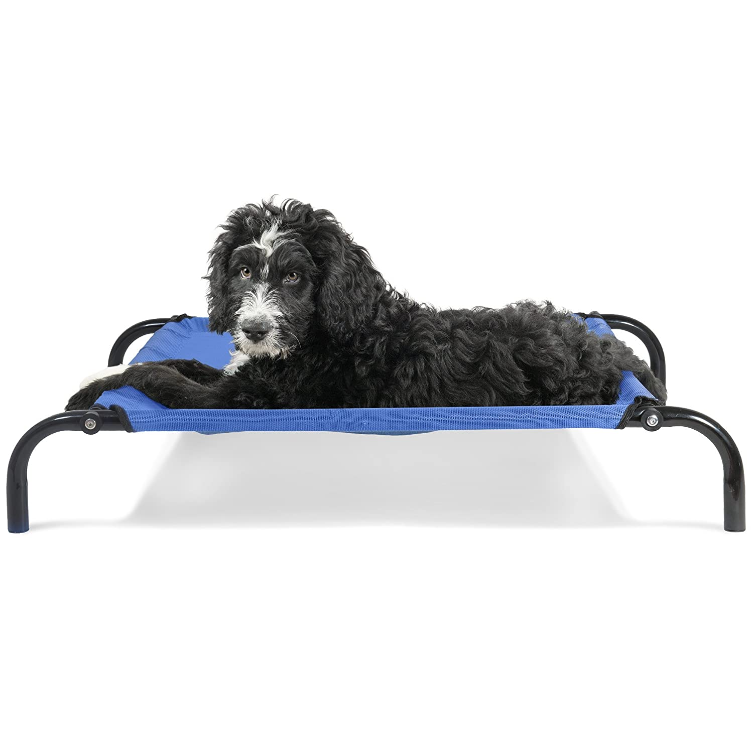 Furhaven Pet Dog Bed Mold Mildew Resistant Breathable Cooling Mesh Elevated Pet Cot Bed, Pet Blanket, Self-Warming Pet Mat Insert for Dogs Cats – Available in Multiple Colors Sizes