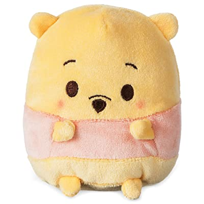 "Disney Winnie the Pooh Scented Ufufy Plush (4.5""): Toys & Games"