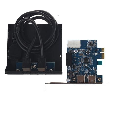Gaoominy PCI Express Tarjeta PCI-E 2 Puertos Adaptador ...