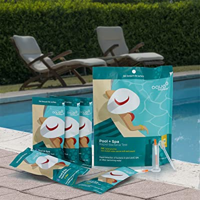 AquaScreen Rapid Coliform Bacteria Test Kit |10-Pack| - for Pool Water and Spa Water - Easy Test Strips Detect Coliform and Non-Coliform Bacteria Including E.Coli, Salmonella, and More. : Garden & Outdoor