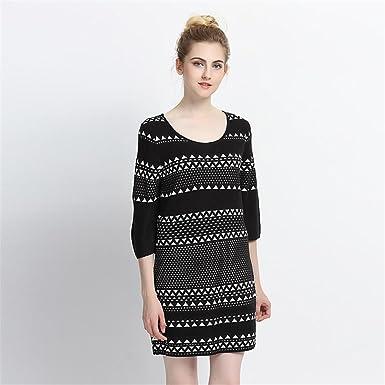 a9d3207f300 Amazon.com  Eault Elegant New Fashion 2016 Autumn Winter Dress Plus ...
