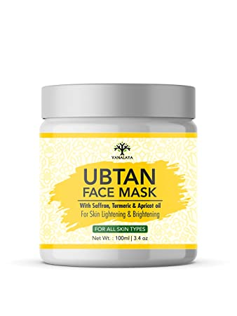 Buy Vanalaya Ubtan Face Mask Face Pack For Fairness Tanning Glowing Skin With Saffron Turmeric Apricot Oil Detan Mask 100 Ml Online At Low Prices In India Amazon In