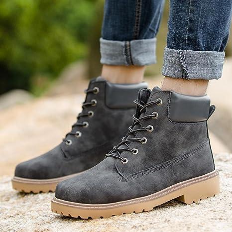 2a39f6e2e0840 Amazon.com: Men Boots Autumn Winter Shoes Ankle Boot Men's Lace up ...