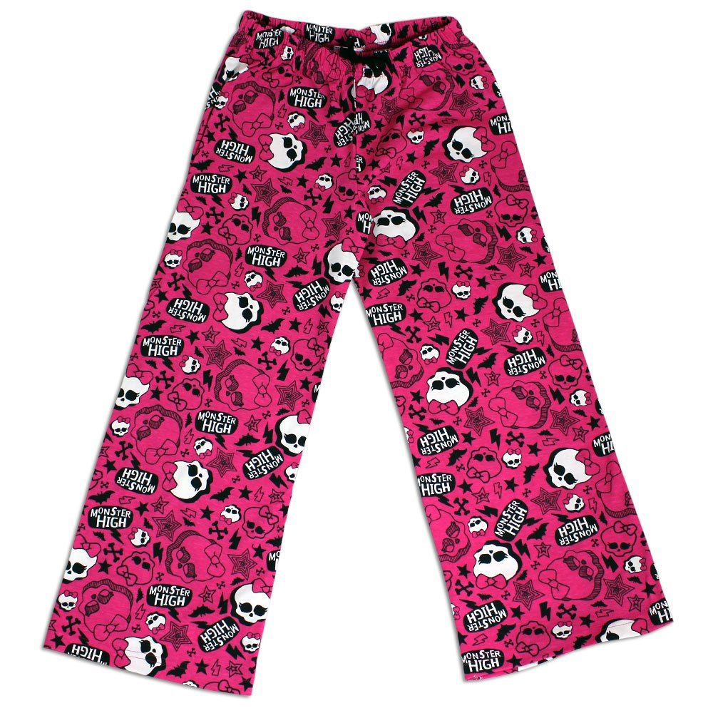 Monster High Lounge Pants | Pink | Age 11 to 12 Years