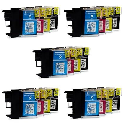 Prestige Cartridge 20 XL Compatibles LC1100 LC985 Cartuchos de Tinta para Brother DCP-130C DCP-135C DCP-150C DCP-330C DCP-350C DCP-357C DCP-540CN ...