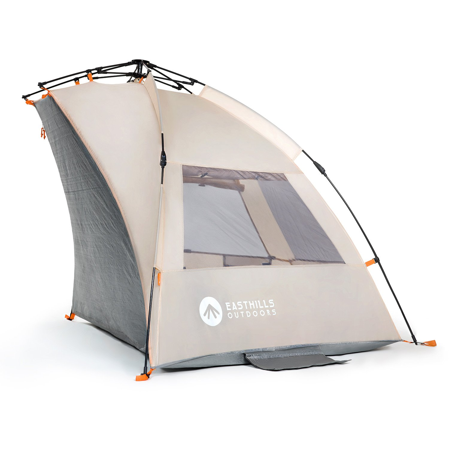 Amazon.com Easthills Outdoors Easy Up Beach Tent Sun Shelter - Extended Zippered Porch Included Sports u0026 Outdoors  sc 1 st  Amazon.com & Amazon.com: Easthills Outdoors Easy Up Beach Tent Sun Shelter ...