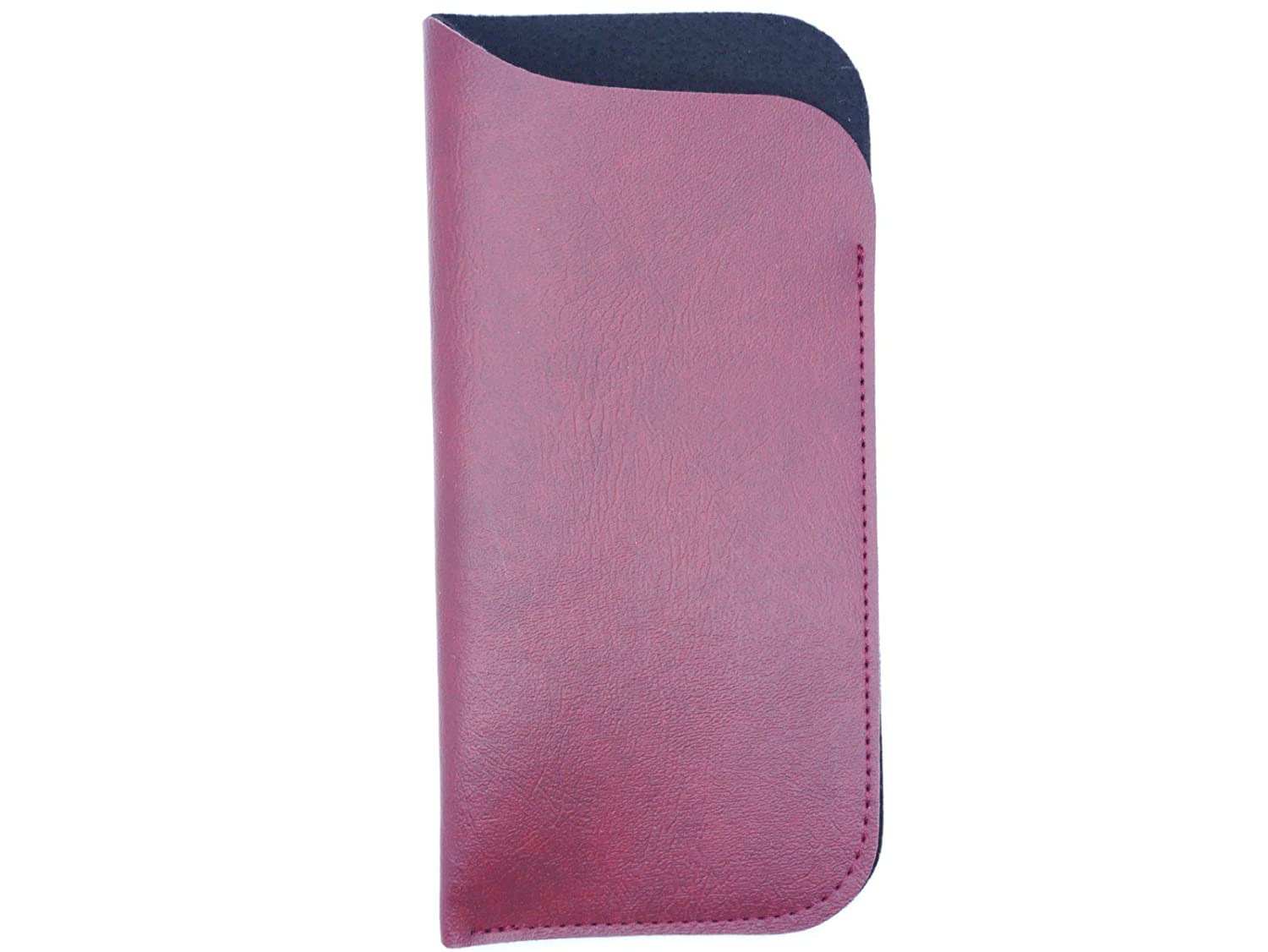 Gents Faux Leather Slip In Glasses Case