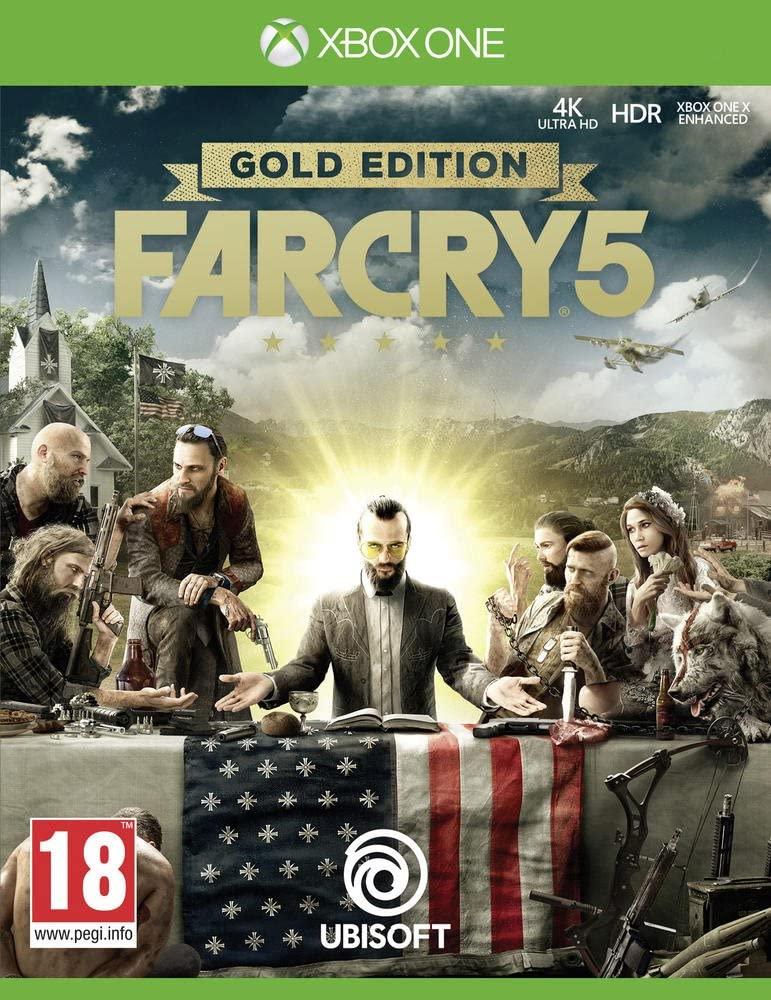 Far Cry 5 Edition Gold - Xbox One [Importación francesa]: Amazon ...