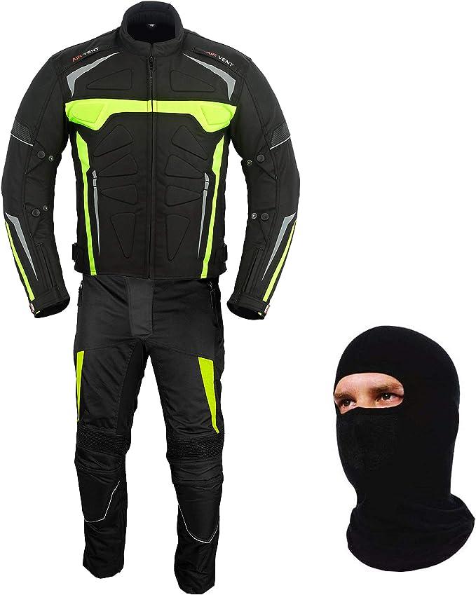 Armadura de motocicleta Bicicleta Rider 2 piezas Racing impermeable Deporte Traje para todo tipo de clima desgaste CE Armour para hombres y ni/ños Trajes de moto