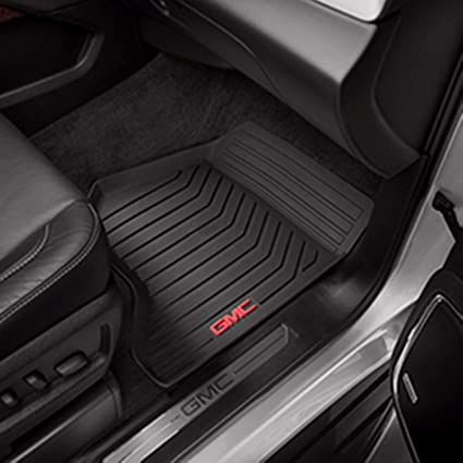 f522597b87 Amazon.com  2015 GMC Yukon Black GM Front Premium All Weather Floor Mats -  23452756  Automotive