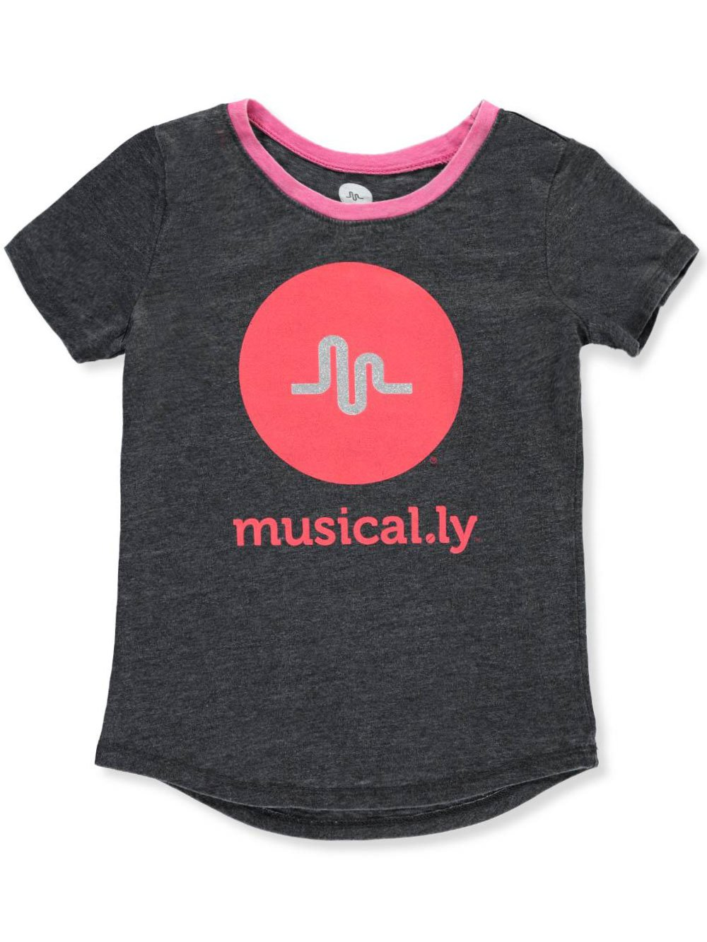 Musical.ly Girls' T-Shirt Musical.ly Girls' T-Shirt