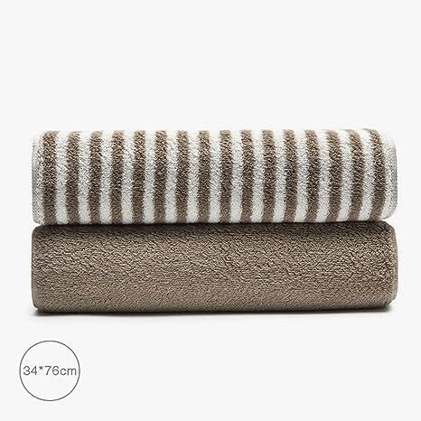 ZLR Toalla de algodón puro engrosamiento Toalla de cara Toalla absorbente de color sólido para el